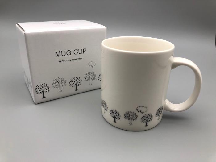 住友林業からもらったマグカップ