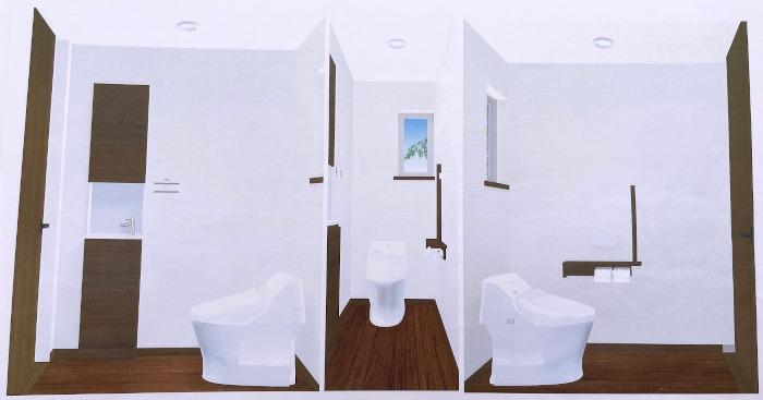 パース,設計,トイレ